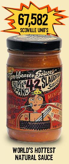 Torchbearer #42 Slaughter Hot Sauce