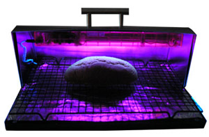 An ultraviolet bread box