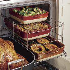 Three-Tiered Oven Rack